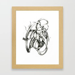 Bacon Ampersand Framed Art Print