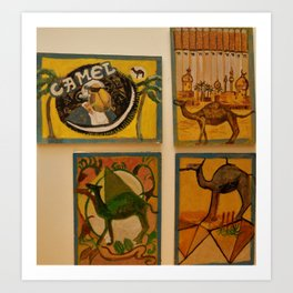 Cool Camel Art Print