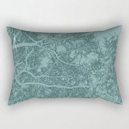 Branches one Yoga mat Rectangular Pillow