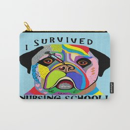 I Survived Nursing School Carry-All Pouch