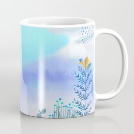 Blue Garden II Coffee Mug