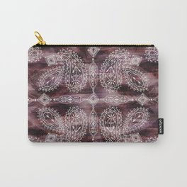 Marrakesh Paisley Carry-All Pouch