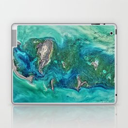 Ice Scours the North Caspian Sea Laptop & iPad Skin
