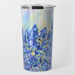 Lavender after the rain, flowers Travel Mug