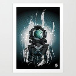 Deep Space Diver Kunstdrucke