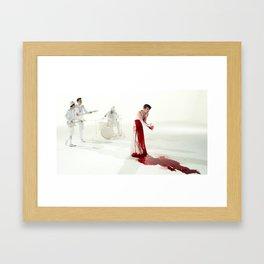The Killing Type #5 (amanda palmer & the grand theft orchestra) Framed Art Print