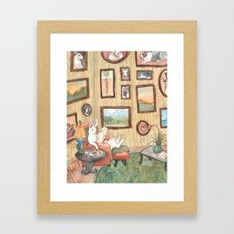 The Art Collector Framed Art Print