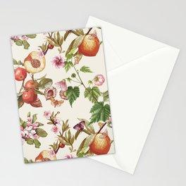 botanical fruits Stationery Cards