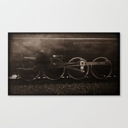 Nickel Plate no. 765 Locomotive // Steam Engine Train Canvas Print