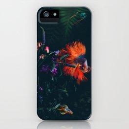 Dark Sea, photographic composition iPhone Case
