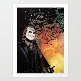 Heath RPG Art Print