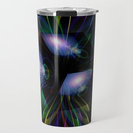 Abstract perfection - Light is energy Travel Mug