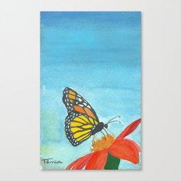 Borboleta Canvas Print
