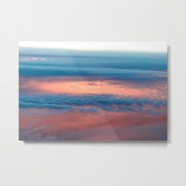 Cyclone in the clouds Metal Print