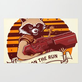 Rocket Raccoon / Fox on the Run Rug