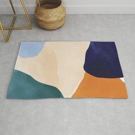 Color Paradise II #illustration Art Print Rug