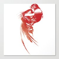 final fantasy Canvas Prints featuring FINAL FANTASY VIII  by DrakenStuff+