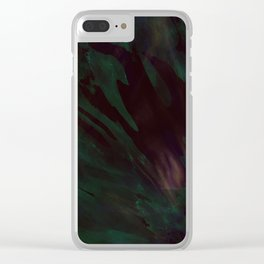 Simmering beneath Clear iPhone Case