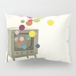 Colour Television Pillow Sham