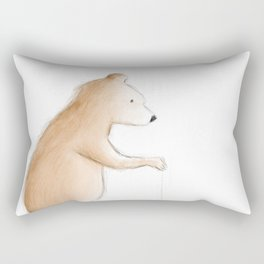 Bear with Yoyo Rectangular Pillow