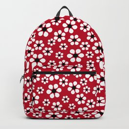 Dizzy Daisies - Red 2 - more colors Backpack