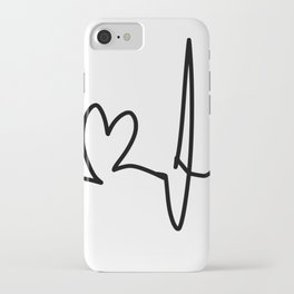 My Heartbeats For You iPhone Case
