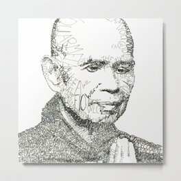 Thich Nhat Han Metal Print
