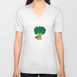Super Broccoli Unisex V-Neck