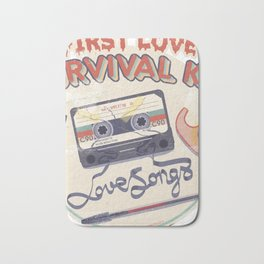 First Love Survival Kit Bath Mat