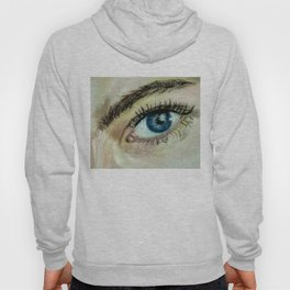 Eye (oil painting) Hoody