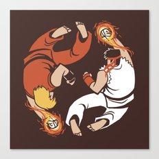 Super Yin Yang Canvas Print