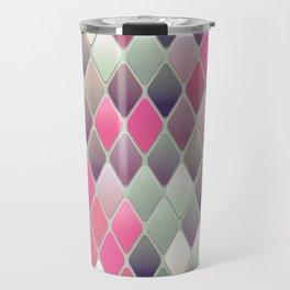 Abstract Mid Century Pattern Travel Mug