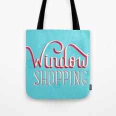 Window Shopping Tote Bag