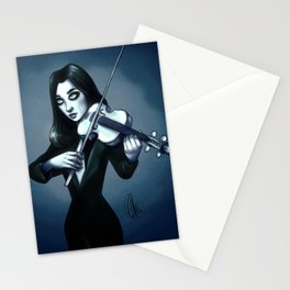 Number 7 - Vanya the white violin Stationery Cards