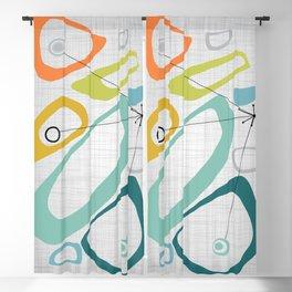 Mid Century Modern Art 01 Blackout Curtain