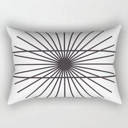 Optical illusion gift math geometry school Rectangular Pillow
