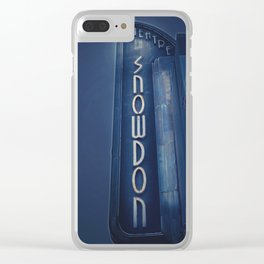 Deco Snowdon Clear iPhone Case