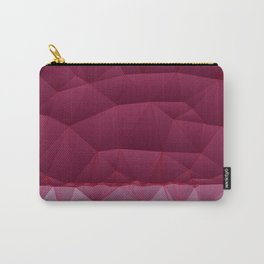 Quilted Stripe Pantone Ultra Violet Design Carry-All Pouch