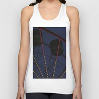 ferris wheel Tank Tops featuring Ferris Wheel  by Yellow Tie