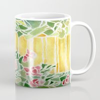 tiffany Mugs featuring Tiffany Inspired by Rosie Brown