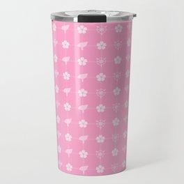 Sakura Card Captors Pattern Travel Mug