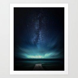 Space Dock Art Print