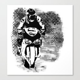 Street Race Canvas Print