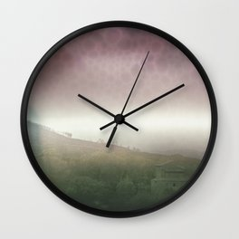 colorful trip Wall Clock