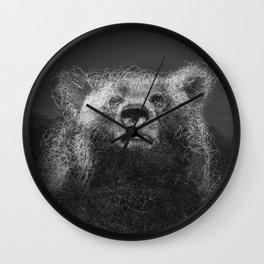 Sacred Bear Wall Clock