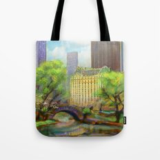 Gapstow Bridge Tote Bag