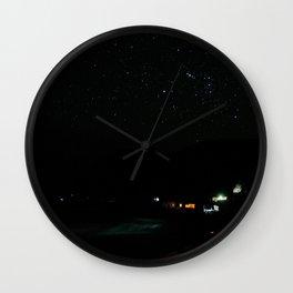 Night at the southern skies IV Wall Clock