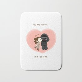 Reylo - You are nothing, but not to me Bath Mat