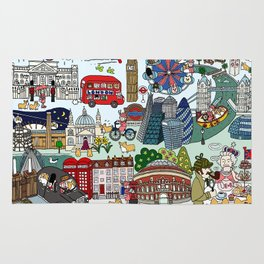 Queen's London Day Out Rug