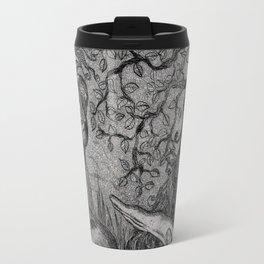 Arlecchino & Colombina by Ines Zgonc Travel Mug